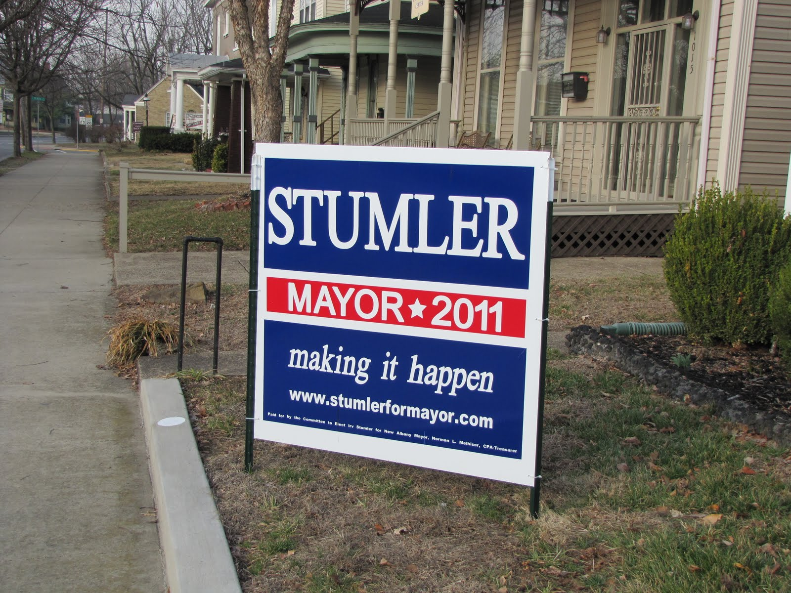 Political Yard Signs - How to get attention | Welcome to ...