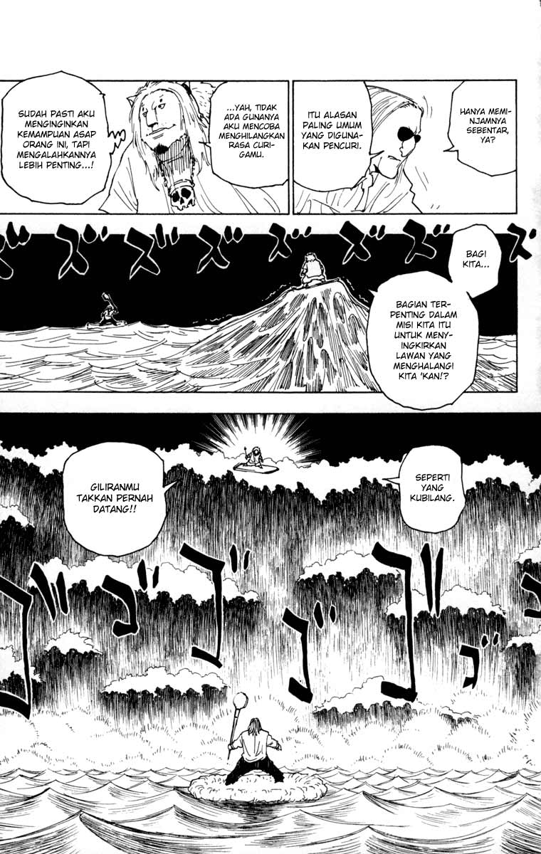 Komik manga HunterXHunter254 p03 shounen manga hunter x hunter