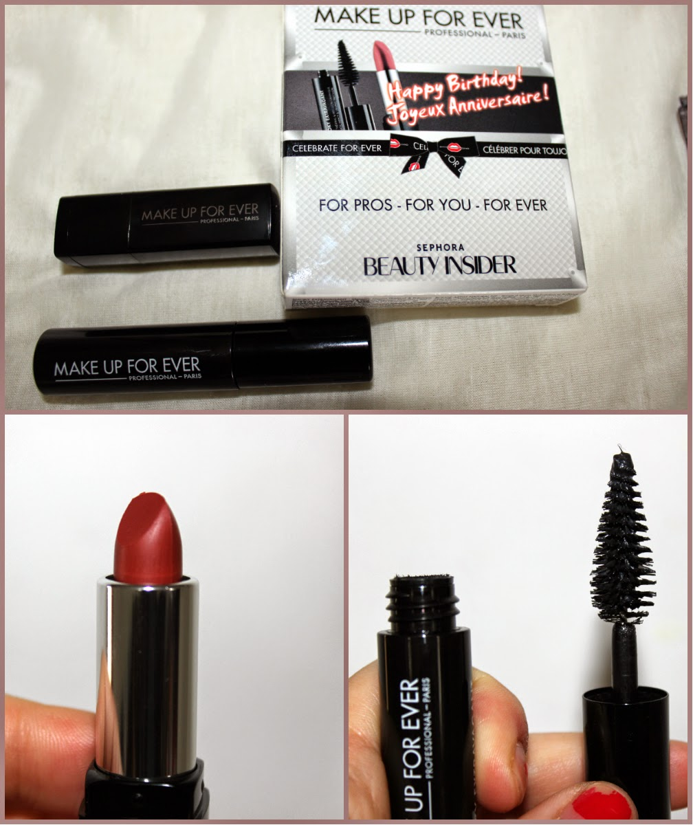 Sephora Birthday Gift 2014