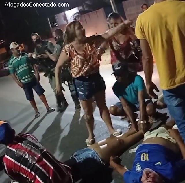 Acidente em Afogados: bombeiros e ambulância demoram e mãe clama por socorro