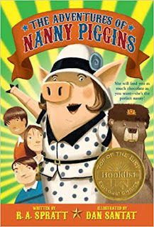 """Kid's Book Group Reads """"The Adventures of Nanny Piggins"""" for June 19, 2019"""