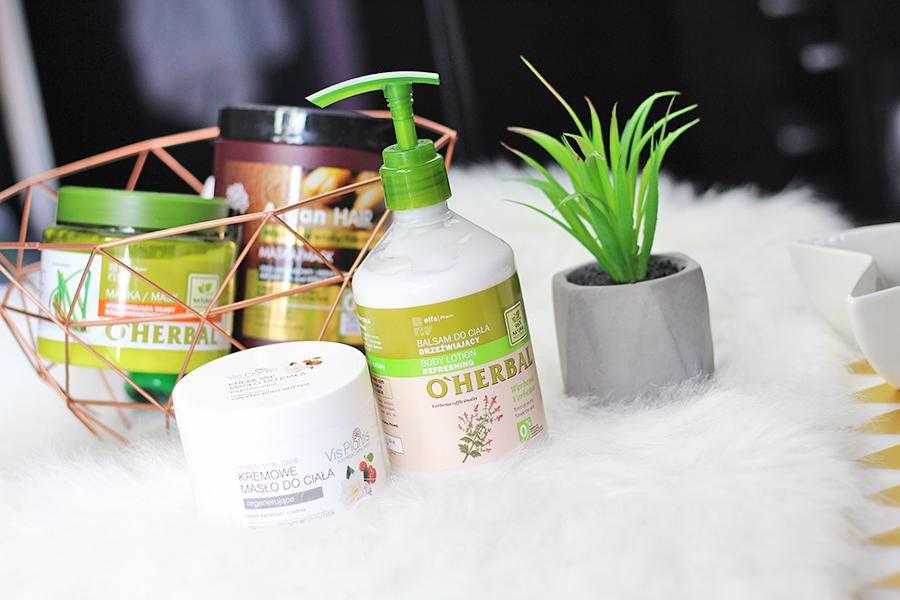 Kremowe masło  Vis Plantis & orzeźwiający balsam O'Herbal