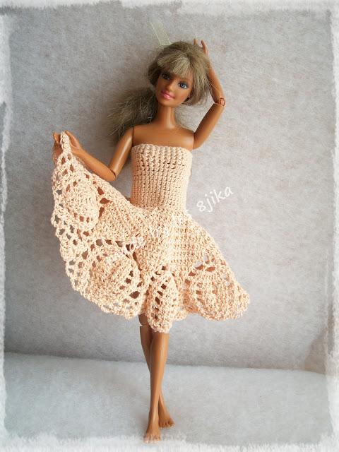 Robe courte pour Barbie