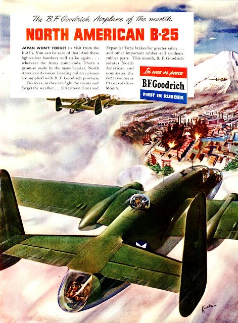 реклама РТИ BF Goodrich Вторая Мировая IIWW