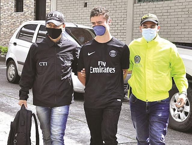 Jhon Mario Gómez Vásquez, de 26 años de edad, deberá permanecer en la cárcel La 40 hasta que  un juez determine si lo encuentra culpable.