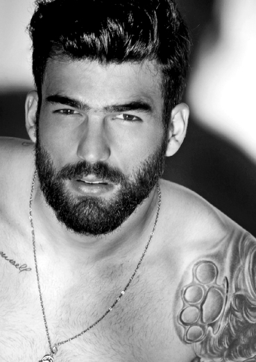 Dimitris Alexandrou Beard Hot Bearded Men