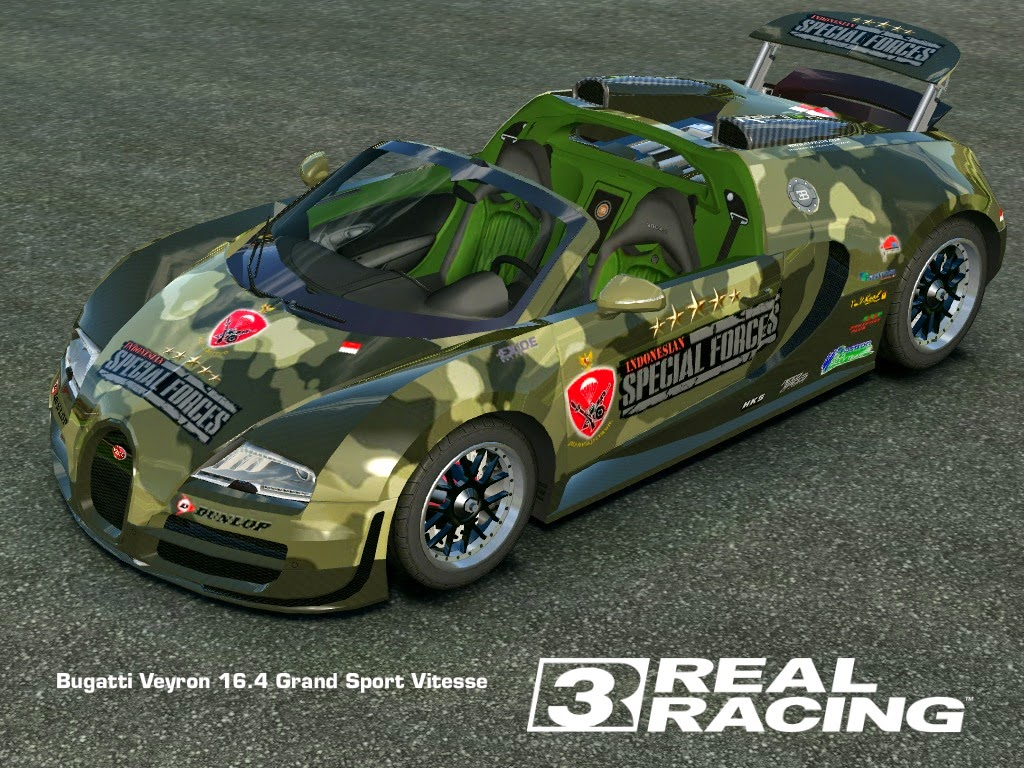 real racing 3 mod skin livery vinly 2013 bugatti veyron gsv military bugatti veyron gsv. Black Bedroom Furniture Sets. Home Design Ideas