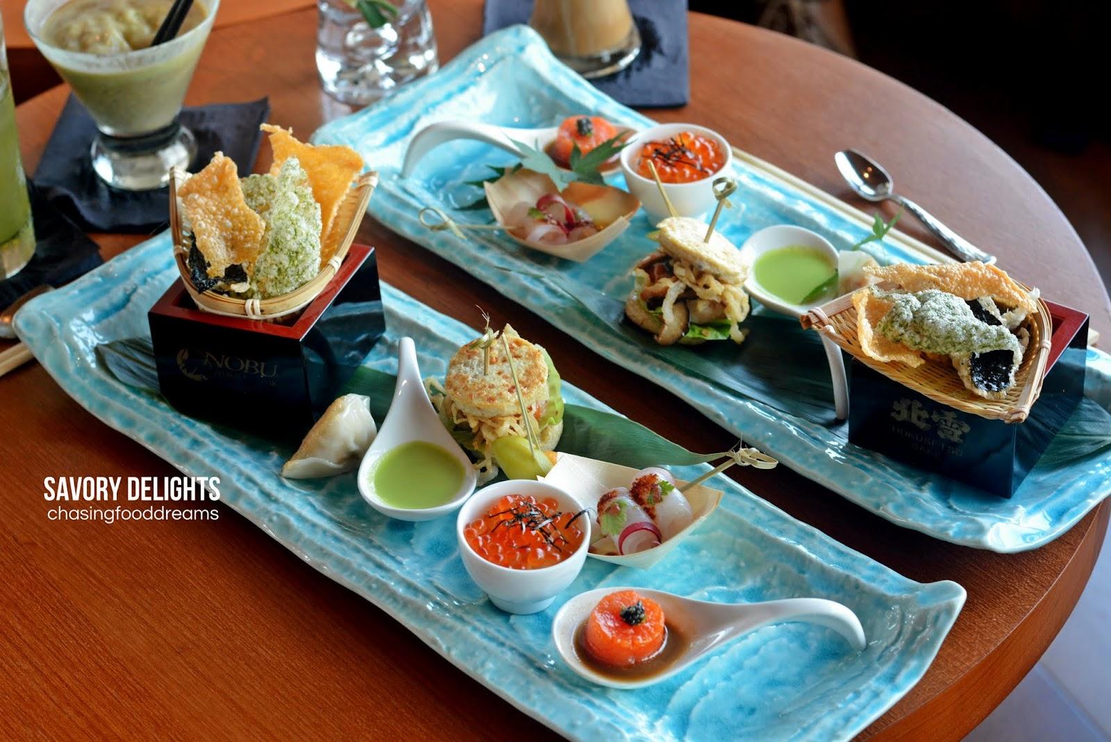 CHASING FOOD DREAMS: Sky High Tea @ Nobu Kuala Lumpur