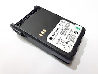 Baterai HT Motorola GP338plus GP338 Plus GP328plus GP328 Plus Tebal 1800mAh