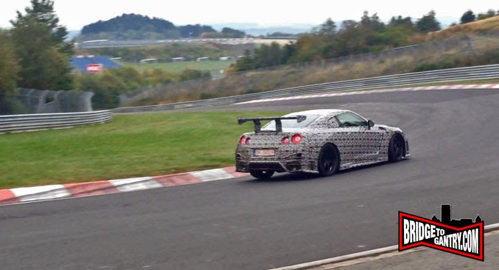 Are Nissan Going For Nürburgring Lap Record Today? [VIDEO]