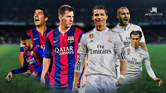 مباراة برشلونة وريال مدريد مباراة عودة غداً الكلاسيكو الإسباني 2017 فى كأس السوبر والقنوات الناقلة للبث المباشر