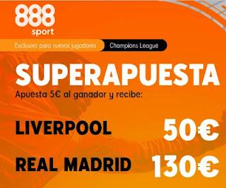 888sport superapuesta Liverpool vs Real Madrid 14-4-2021