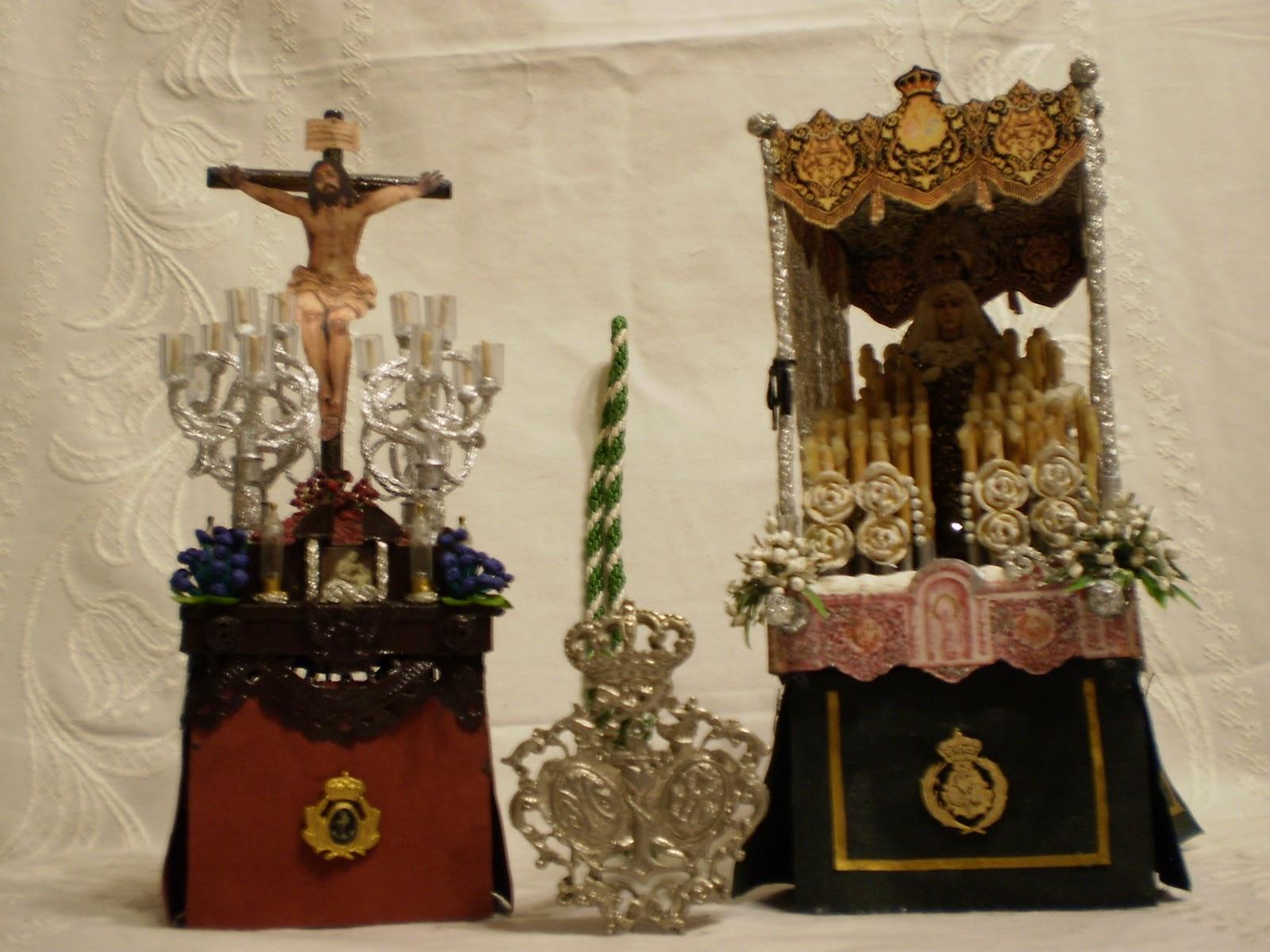 Semana Santa De Baza Pasos En Miniatura De La Esperanza Y Del