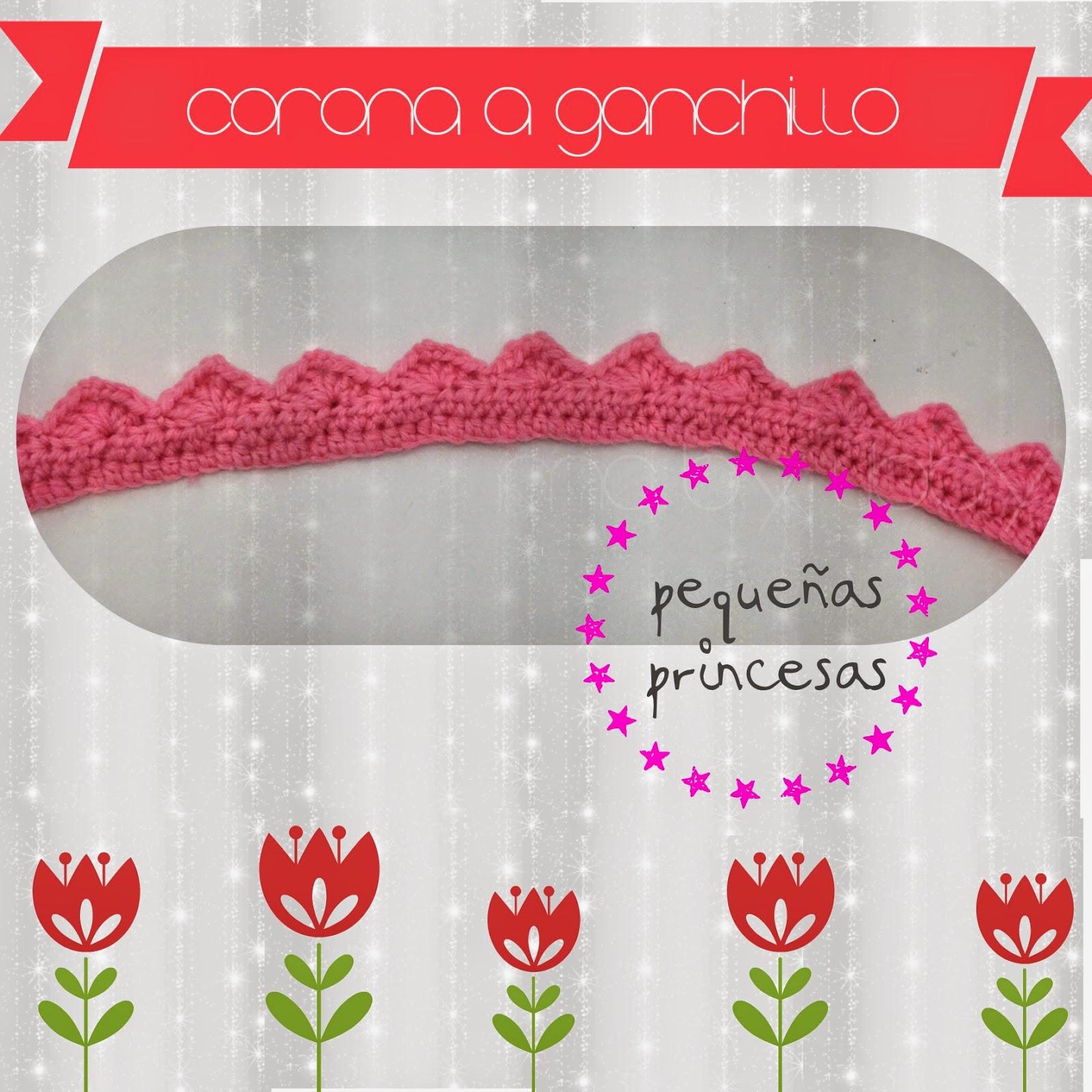 Monkey Craft: Estrenando corona a crochet