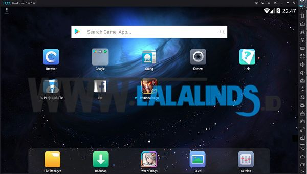 Download Emulator Nox App Player 5.2.1.0 Offline Installer