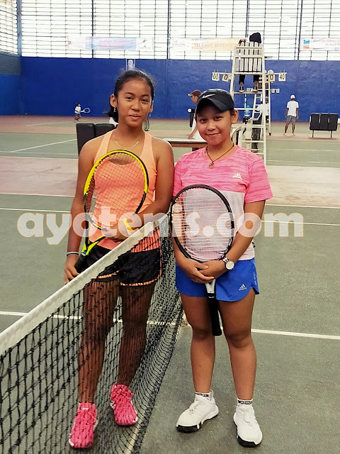 Wow! Unggulan Teratas Kejurnas Tenis Yunior New Armada Cup XXIV Ditumbangkan Petenis Non Unggulan