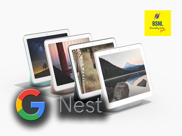 BSNL to offer Google Smart devices bundled with Broadband (DSL/Bharat Fiber/Air Fiber) plans starting from Rs 777/-