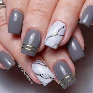 Gray Nail Designs