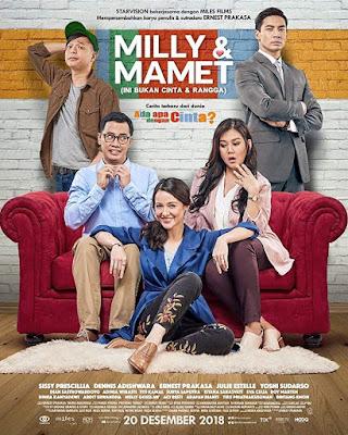 Sinopsis film Milly & Mamet: Ini Bukan Cinta & Rangga (2018)