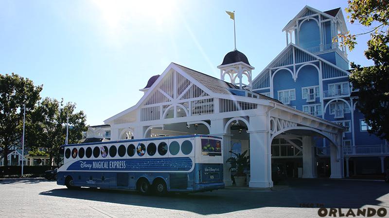 O Disney's Magical Express é excluviso para os hóspedes Disney em Orlando