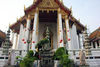 Suthat Wat Tempel Bangkok Giant Swing