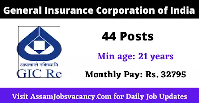 General Insurance Corporation of India recruitment