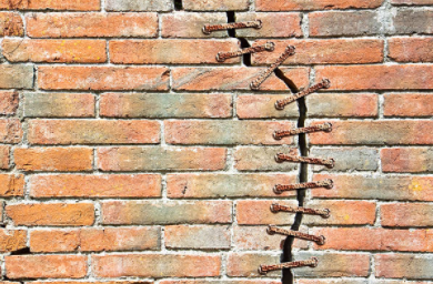 Cracks In Plaster Masonry Walls Causes And Repair