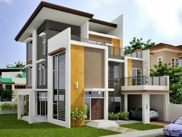 2 Floor House Design Type 90