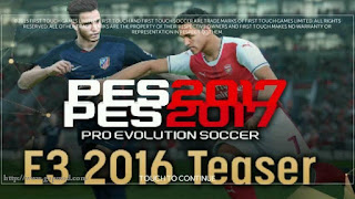 FTS Mod PES 2017 E3 Edition BY REZA JUNIOR Apk + Data Obb