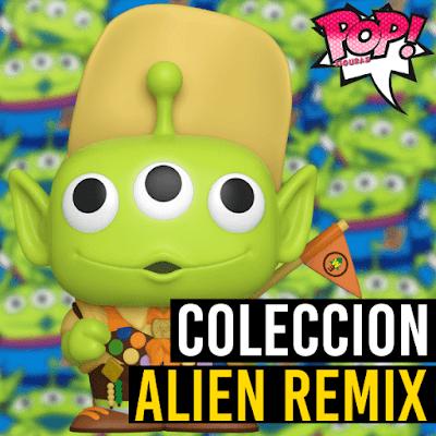 Lista de figuras Funko POP Alien Remix