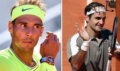 Roger Federer will meet against Rafael Nadal in French Open 2019 Semi-Final.