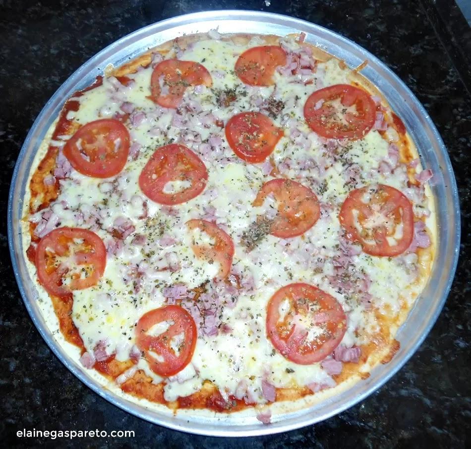 Pizza de liquidificador- rápida, gostosa e prática