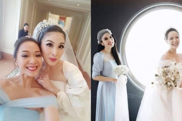 10 Momen Persahabatan Yuanita & Sandra Dewi, dari Single sampai Nikah