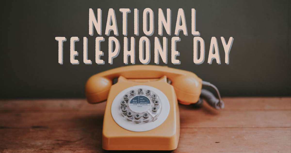 National Telephone Day Wishes Awesome Images, Pictures, Photos, Wallpapers