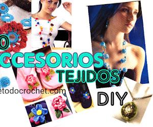 Revista de Accesorios y Joyas Tejidas a Crochet 💍 Con explicaciones y patrones