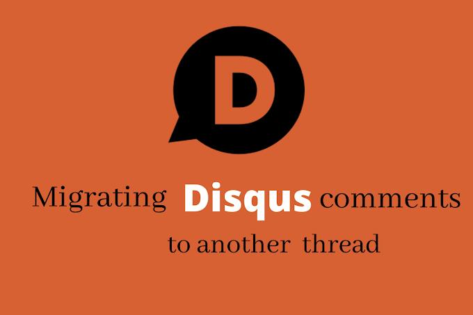 [Disqus] Phục hồi comment khi xoá bài hay chuyển nền tảng viết blog.