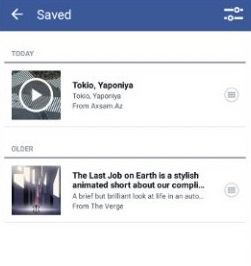 HOW TO : Save Facebook Video for Offline Viewing on Smartphone