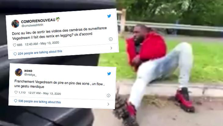 Vegedream devient la risée d'internet après sa vidéo sur le déconfinement ! (Vidéo)