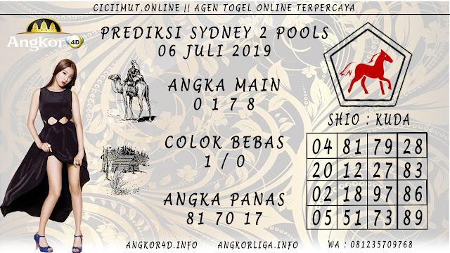 PREDIKSI SYDNEY 2 POOLS 06 JULI 2019