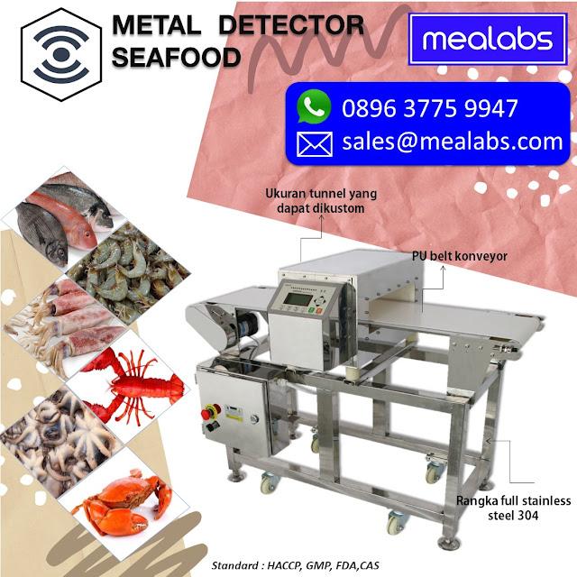 metal detector seafood dan frozen food