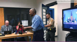 Check Out What The O.J. Parole Board Did Just Before The Hearing