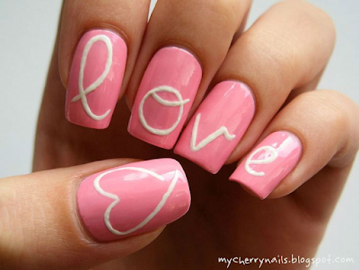 Valentine's Day Special Nail Art Designs