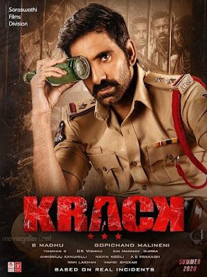 Krack (2021) Dual Audio [Hindi ORG – Telugu] 720p | 480p UNCUT HDRip ESub x264 1.2Gb | 500Mb