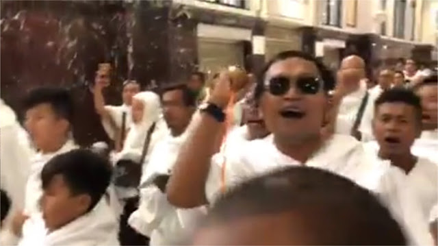 Begini Cara Tegas Arab Saudi 'Semprot' Penyanyi Ya Lal Wathon Saat Sa'i