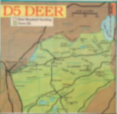 where to hunt california zone D5, deer hunting maps d5, best areas public lands