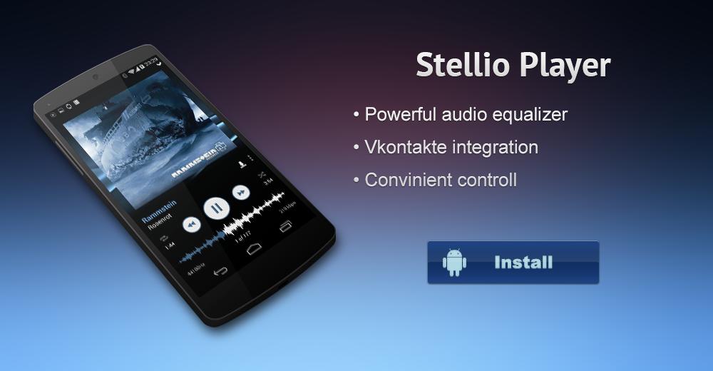 download stellio music player apk