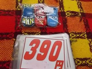 カーズ ミニカーセット 390円