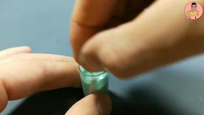 خلط الريزن مع لون أخضر