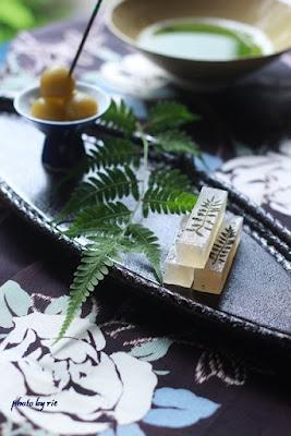 縄文漆器 松葉