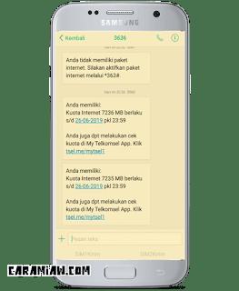 Kuota Internet Lokal Telkomsel Artinya Untuk Apa Itu Cara Menggunakan Caramiaw